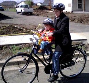 ... シート☆子供乗せ自転車